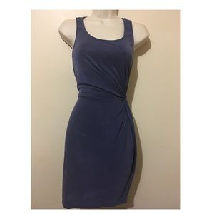 Francescas Everly Navy Blue fitted Style Dress M